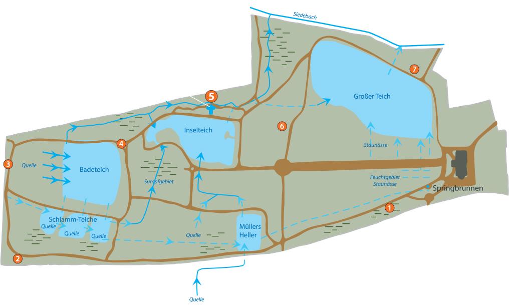 Plan Park Bendeleben Karte 5