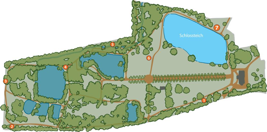 Plan Park Bendeleben Karte 7